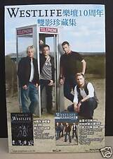 "WESTLIFE ""10 YEARS"" HONG KONG, CHINA COUNTER DISPLAY"