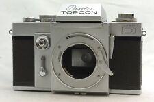 @ Ship in 24 Hours! @ Rare! @ Beseler Topcon Super D U.S. Navy Model SLR Camera