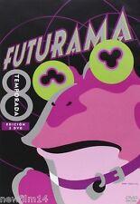 FUTURAMA 8 DVD PACK 8º OCTAVA TEMPORADA NUEVO ( SIN ABRIR )