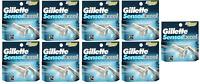 NEW Gillette Sensor Excel Refill Razor Blades - 5 Cartridges (9 Pack)