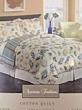American Traditions - CANARIS Quilt - TWIN - NWT