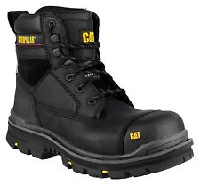 Caterpillar CAT Gravel Black S3 Safety Work Boot With Midsole Size 6-13 6