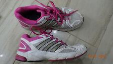 ADIDAS. laufschuhe. Jogging- Sport. Weiß- pink. Gr. 40. damen