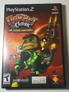 Ratchet And Clank: Up Your Arsenal PS2 (Sony,  2004) Playstation 2
