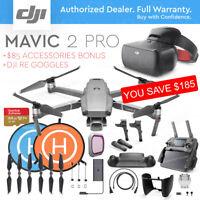 DJI MAVIC 2 PRO with 20MP Camera + DJI Racing Goggles + ACCESSORIES COMBO