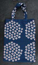 Handmade Puketti small tote bag purse Marimekko fabric Finland, kids boy girl
