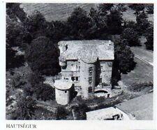 1976  --  CHATEAU DE HAUTSEGUR   VUE AERIENNE   3L126