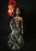 Day Of The Dead Pre Loved Disney Doll Dia De Los Muertos With Stand