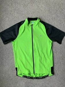 PEARL IZUMI Bike Wear Vest mens size M, neon lime yellow