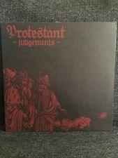 Protestant – Judgements LP Vendetta Records Halo Of Flies Hardcore