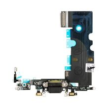 iPhone 8 Charging Port - Replacement Charger Flex Cable USB Dock Mic Black