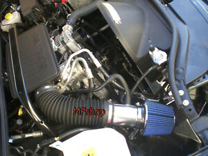 BLUE For 2005-2007 Jeep Grand Cherokee Commander 3.7L 4.7L V8 Air Intake Kit