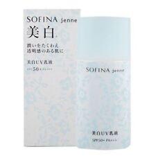 2 Pcs Sofina Jenne Whitening UV Cut Emulsion SP Spf50 PA 30ml Sun