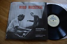 RACHMANINOV piano conc. MALCUZYNSKI Rowicki LP MUZA SX 124