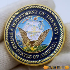 US Department of The Navy United States of America Challenge Coin Collection