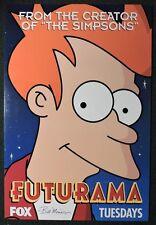 ESS760. FUTURAMA Premier Promotional Foam Poster Signed by Editor Bill Morrison