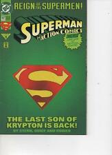 ACTION COMICS 687 -JUNE 1993 VERY FINE SPECIAL CUT OUT COVER