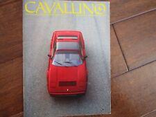 VINTAGE CAVALLINO FERRARI MAGAZINE NUMBER 37 March 1987 328 GTS Cover