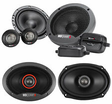 "Pair Mb Quart Fsb216 6.5"" 280 Watt Component Speakers+(2) 6x9"" Coaxial Speakers"
