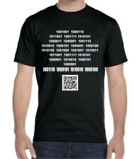 Nerd T-shirt! Binary/ ASCII code message - Any color