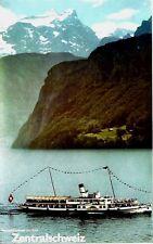 Original vintage poster CENTRAL SWITZERLAND LAKE LUCERNE 1982