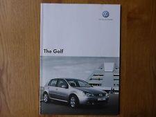 Volkswagen Golf  Brochure  -  2007 #