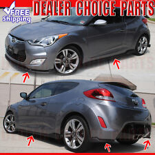 Fits 2012-2017 Hyundai Veloster 5-Piece Sequence Style Body Kit Aero Lip PP