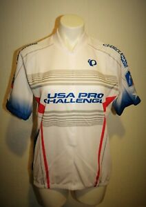 NEW TAGS PEARL IZUMI 2014 USA PRO CHALLENGE S/S CYCLING JERSEY MENS L RETAIL $80