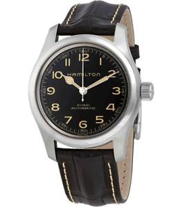 Hamilton Khaki Field Murph Automatic Black Men's Watch H70605731