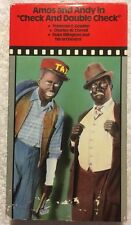 Amos and Andy in Check and Double Check (Prev. Viewed VHS)