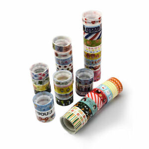 Lady Luck3: Mixed Pattern DIY Scrapbook, Decorative Adhesive Tapes, 15mm