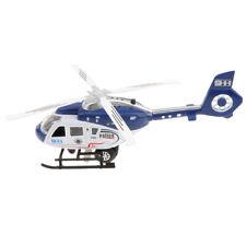 Sound Light Hubschrauber Modell Kinderflugzeuge Elektrische Spielzeug Blau