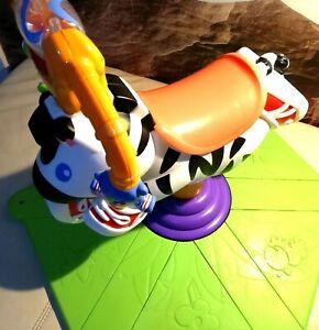 FisherPrice Hipp Hopp Zebra Hüpf Schaukeltier Hüpfschaukel