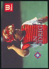 1996 Ivan Rodriguez Wilson Sporting Goods Japanese Baseball Card Texas Rangers