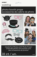 10 Wedding Photo Props - Game Toy Loot/Party Bag Fillers Wedding/Kids