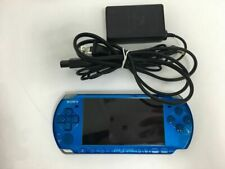 Used SONY Playstation Portable PSP 3000 Blue Console with charger JAPAN F S