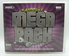 Zoom Karaoke Mega Pack - 500 Songs - 26 CD+G Discs in Handy Storage Box Set