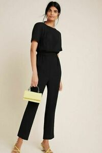 New Anthropologie Blaise Textured Jumpsuit size Large MSRP: $148