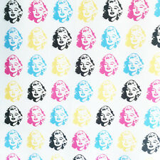 Marilyn Monroe fabric, 50s 1950s retro fabric, rockabilly, Warhol, Kaufman