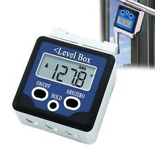 Digital Bevel Box Level Angle Finder Large LCD Display ±180° Measuring Range