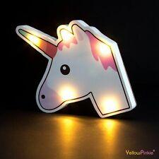 Unicorn Light Up Party Sign