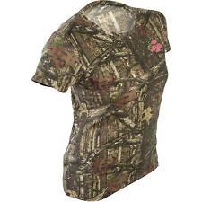 Mossy Oak Break-up Infinty Women's/Ladies Camo Short Sleeve Crew T-Shirts: S-2XL