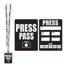 Passe de Press Party Accessoire Invités Décoration Cinéma film déguisement