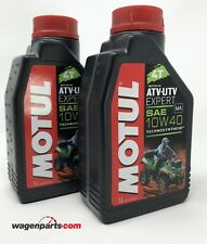 Aceite lubricante motor Quad Motul ATV-UTV Expert 4T sae 10W40 MA 2 L