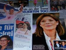 Princess Caroline of Monaco 45 pc German Clippings Full Pages Charlene Cover