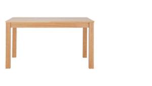 Home Melamine 150 cm Oak Dining Table