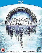 Stargate Atlantis Saisons 1 pour 5 Complet Collection Blu-Ray Neuf (416460