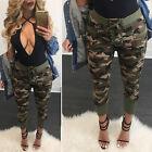 Fashion Military Army Printed Leggings Camouflage Women Stretch Pants S M L XL