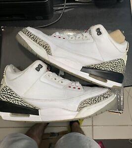 jordan 3 Retro 88 white cement Size 10