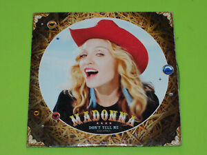 CD SINGLE - MADONNA - DON'T TELL ME  - 2009
